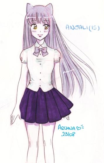 Anjali 15 ans