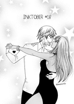Inktober18-Swann & Daphnée
