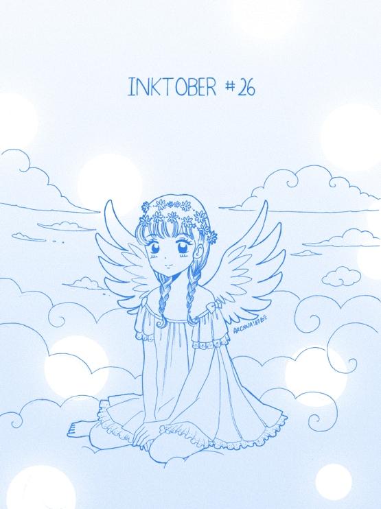 Inktober26- Petit ange