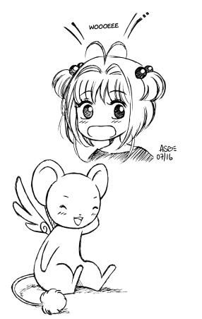 Sakura et kero